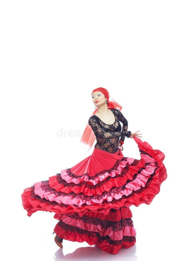 Dançarino do Flamenco foto de stock royalty free