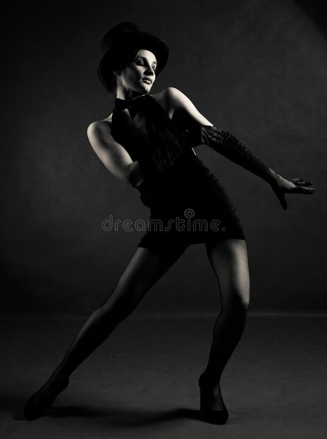 Dançarino do jazz fotografia de stock