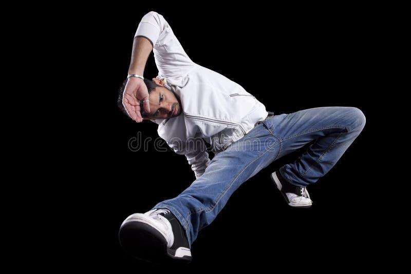 Dançarino do lúpulo do quadril fotografia de stock