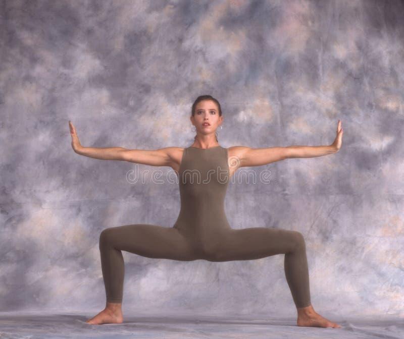 Dançarino em um Y foto de stock royalty free