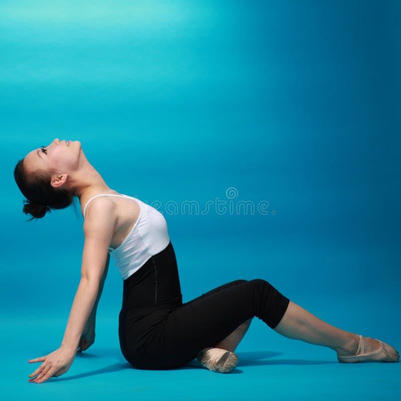 Dançarino fêmea imagem de stock