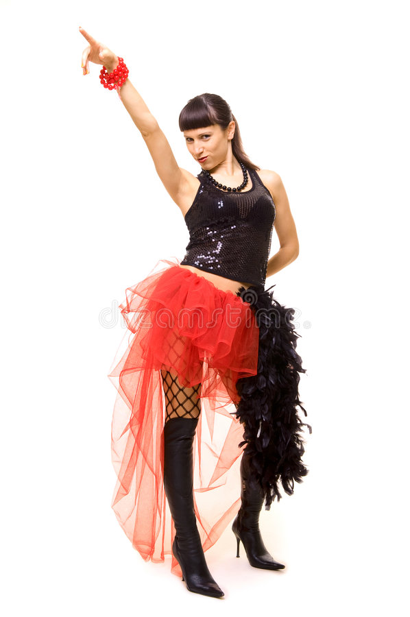 Dançarino feliz imagem de stock royalty free