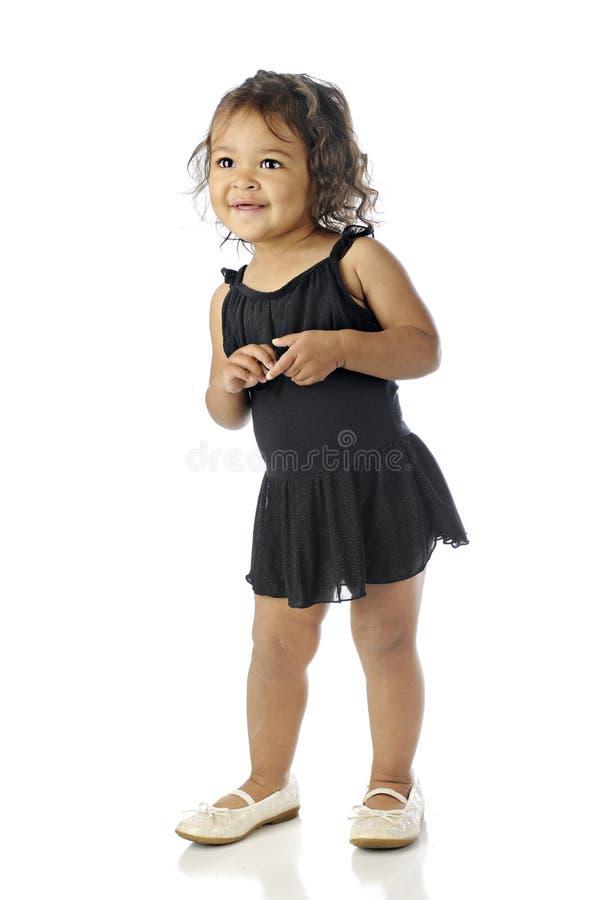 Dançarino feliz da criança foto de stock royalty free