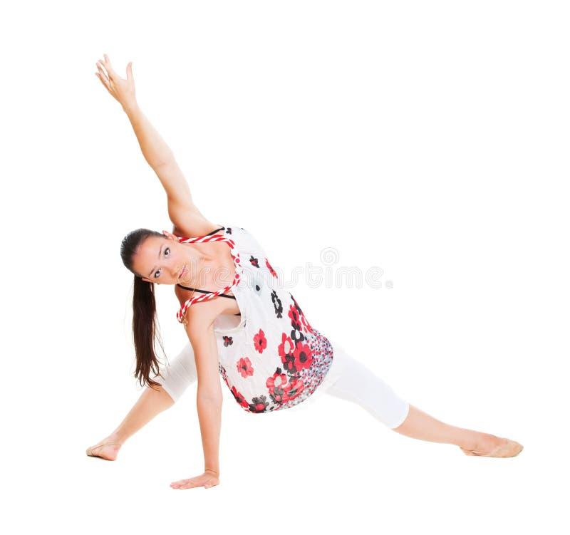 Dançarino flexível foto de stock