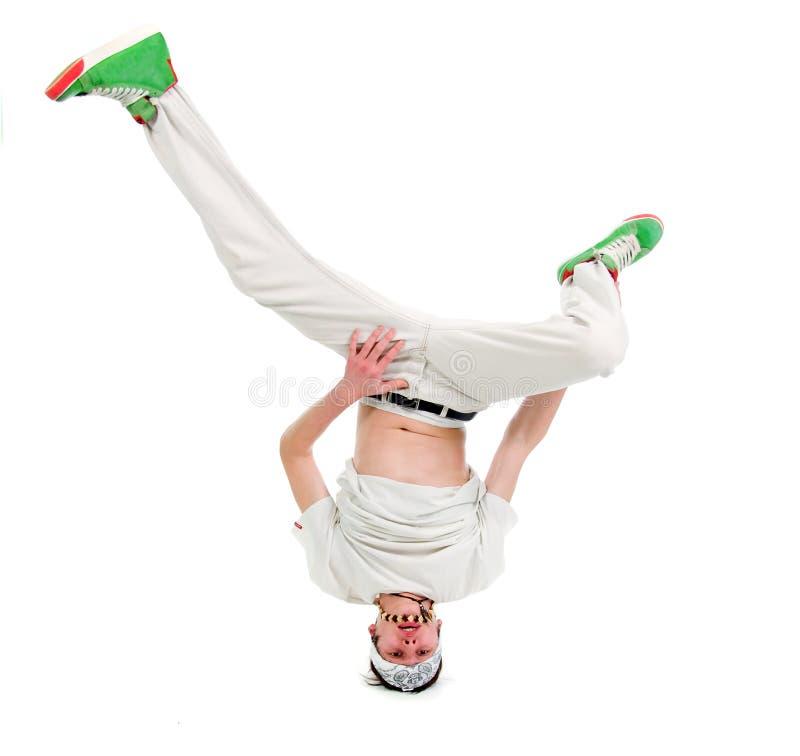 Dançarino fresco do estilo do lúpulo do quadril fotos de stock royalty free