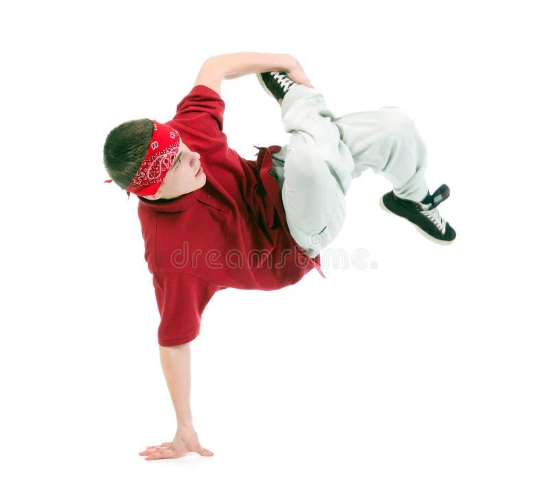 Dançarino fresco do estilo do lúpulo do quadril imagens de stock