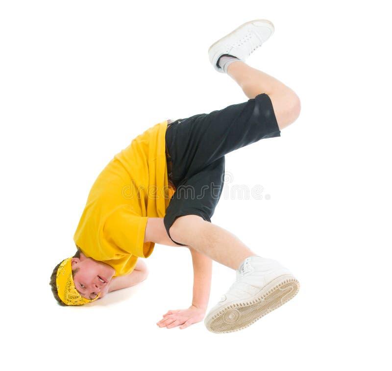 Dançarino fresco do estilo do lúpulo do quadril imagem de stock royalty free
