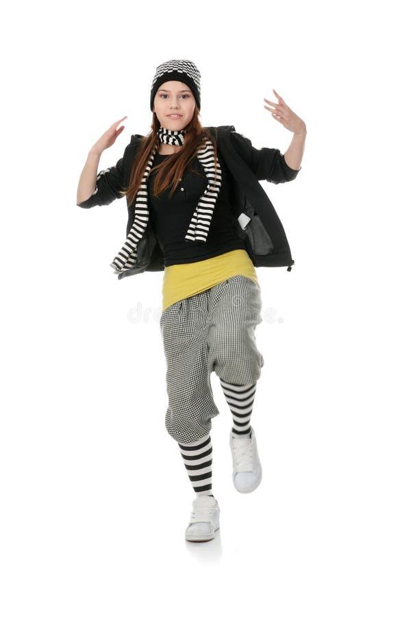 Dançarino Funky fotos de stock