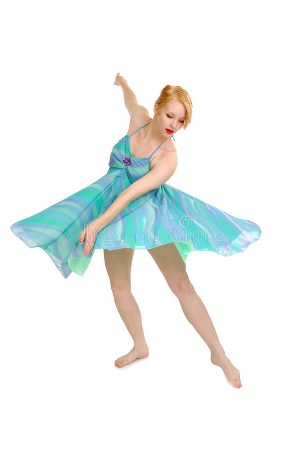 Dançarino gracioso imagem de stock royalty free
