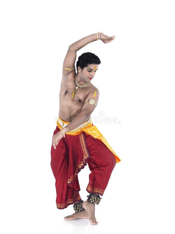 Dançarino indiano imagem de stock royalty free