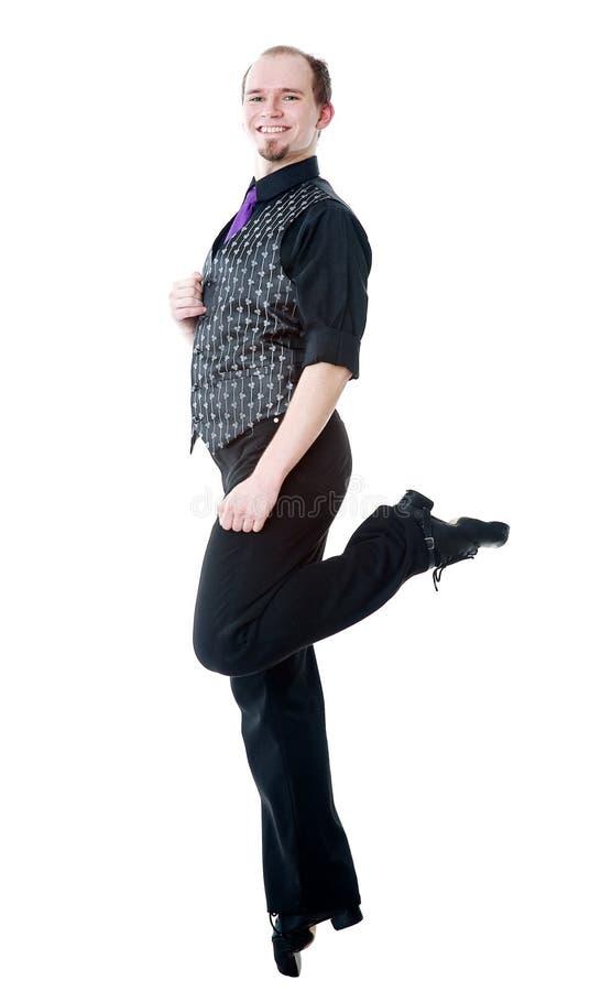 Dançarino irlandês fotografia de stock royalty free