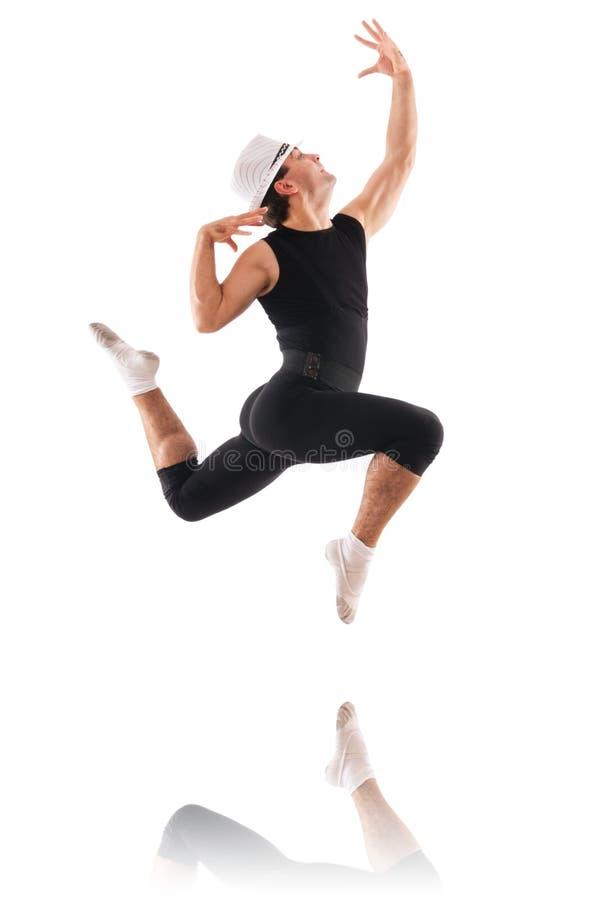 Dançarino Isolado Fotografia de Stock Royalty Free
