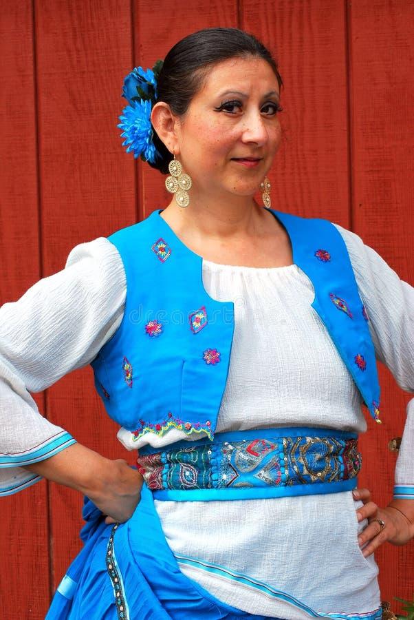 Dançarino mexicano fotos de stock