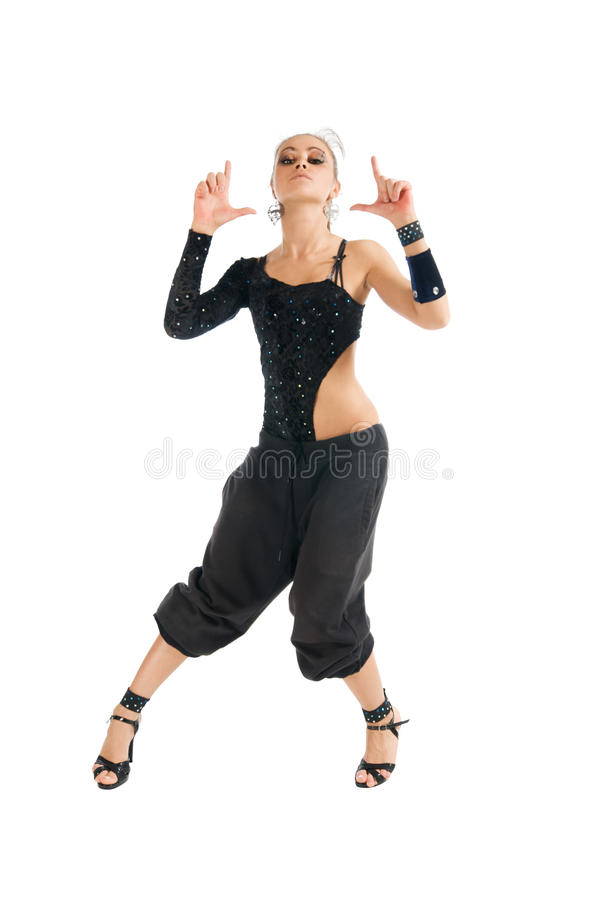 Dançarino moderno foto de stock royalty free