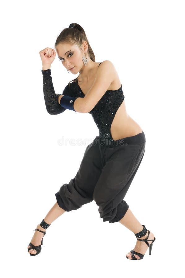 Dançarino moderno imagem de stock