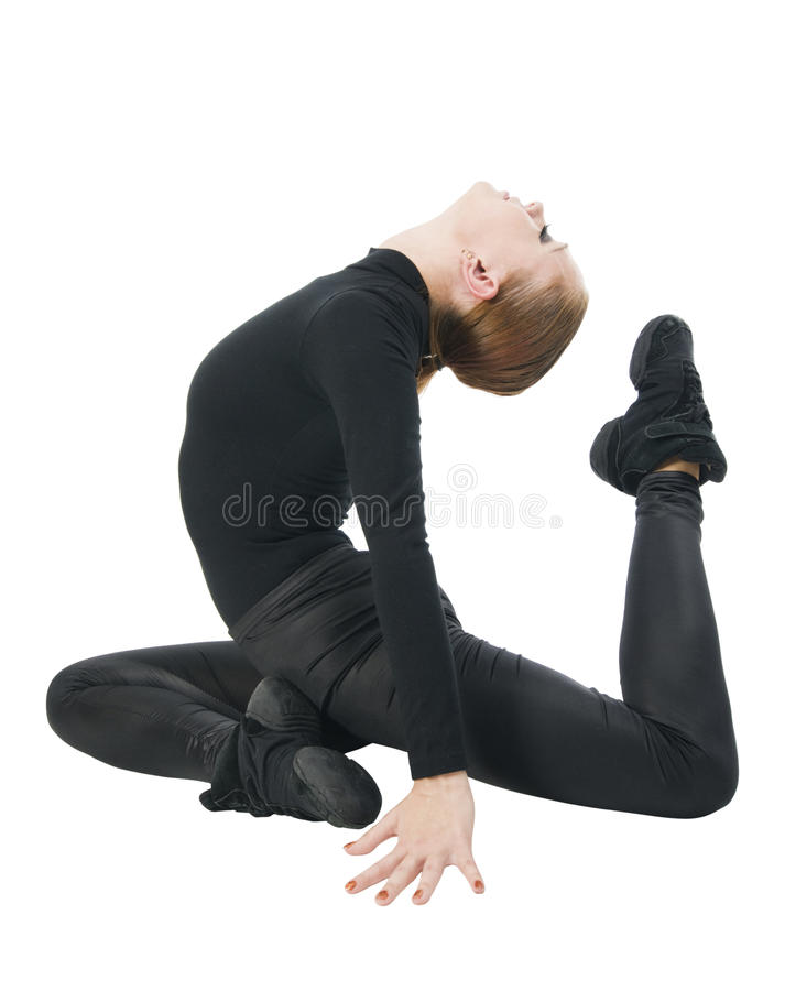 Dançarino moderno imagens de stock royalty free