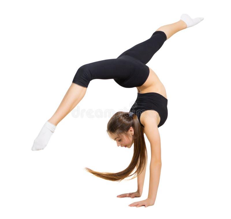 Dançarino moderno da moça imagem de stock