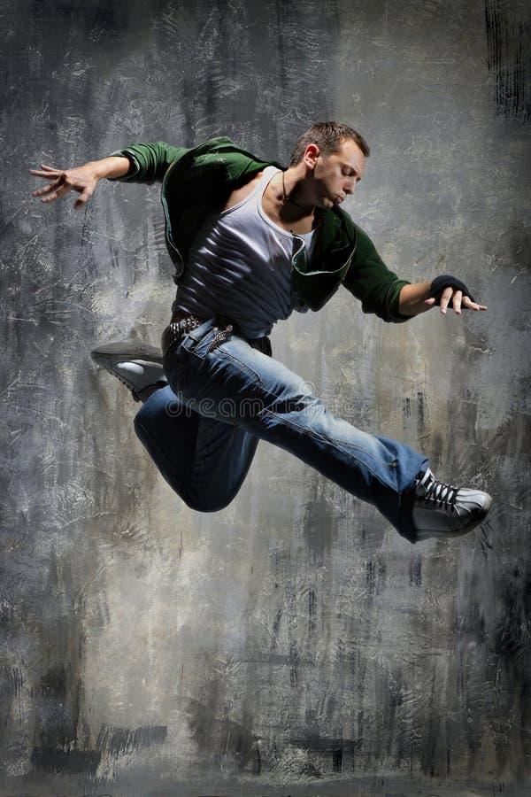 Dançarino moderno do estilo fotos de stock