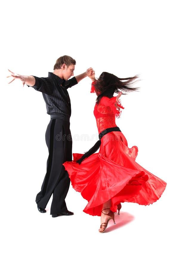 Dançarino na ação imagem de stock