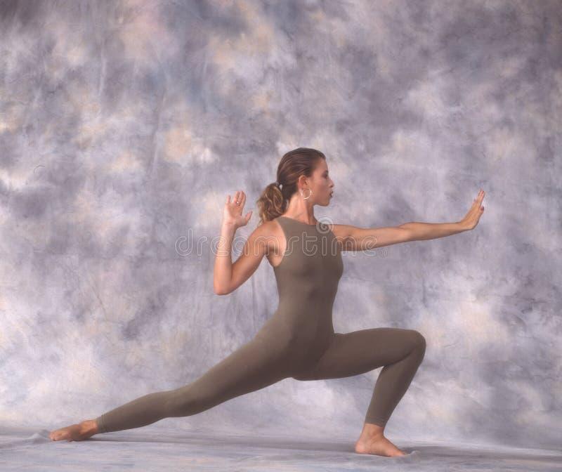 Dançarino no lunge ilustração royalty free