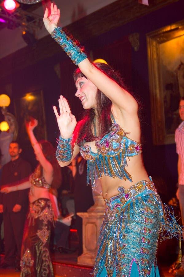 Dançarino Oriental Fotografia de Stock