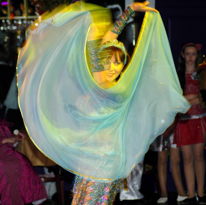 Dançarino oriental foto de stock royalty free