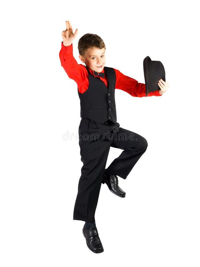 Dançarino pequeno foto de stock royalty free