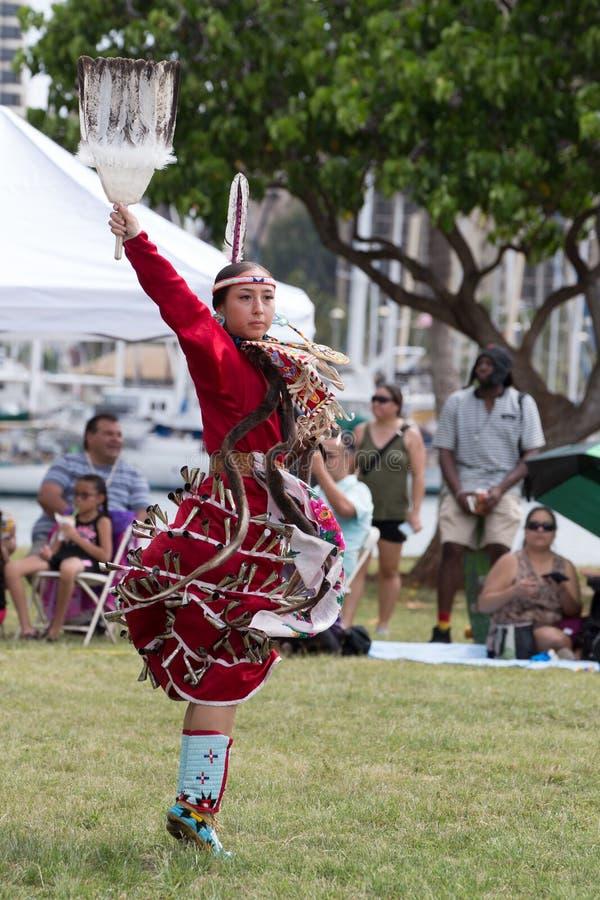 Dançarino Pow Wow imagem de stock royalty free
