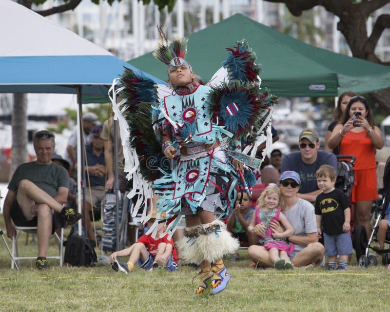 Dançarino Pow Wow imagens de stock