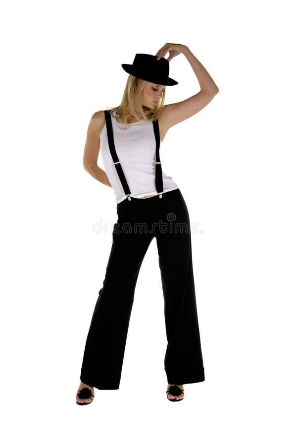Dançarino retro foto de stock