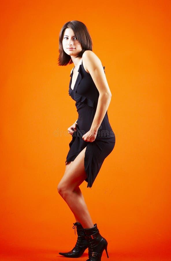 Dançarino 'sexy' fotografia de stock royalty free