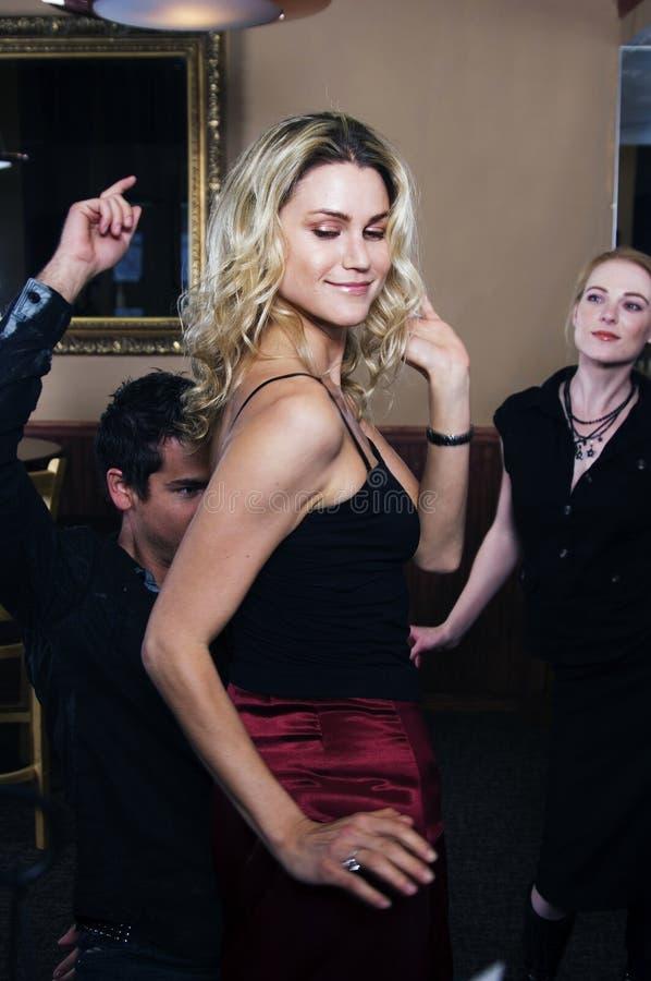 Dançarino 'sexy' foto de stock royalty free