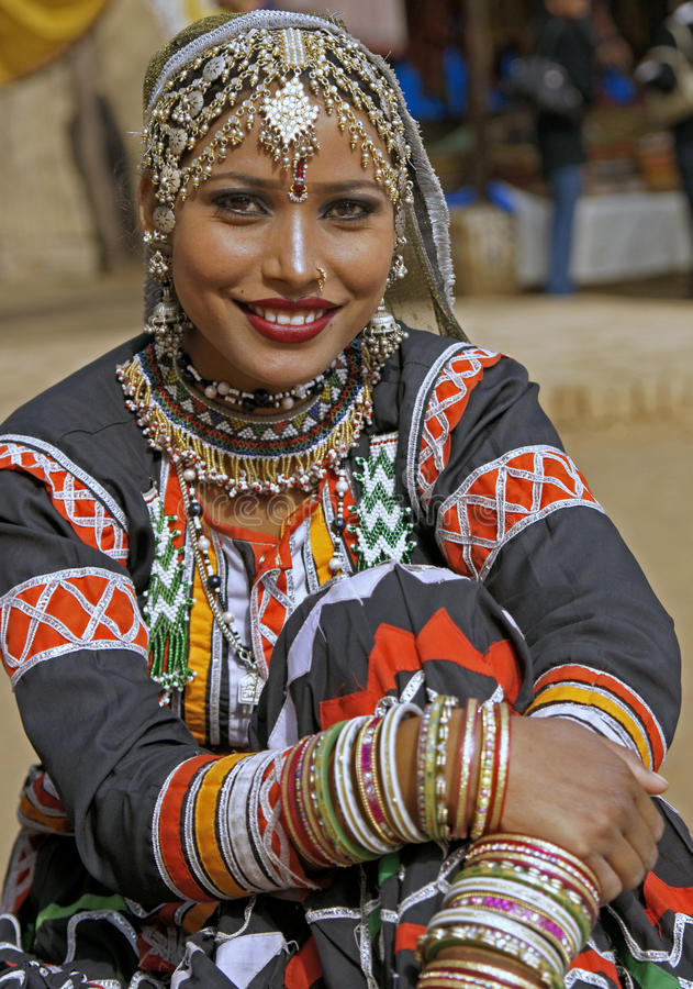 Dançarino tribal imagens de stock