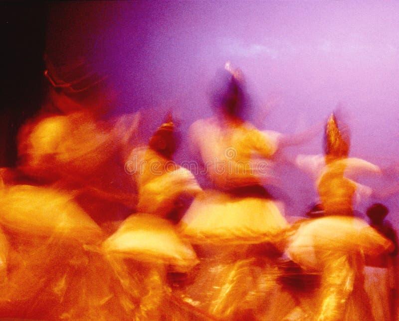 Dançarinos 04 de Ceilão fotografia de stock