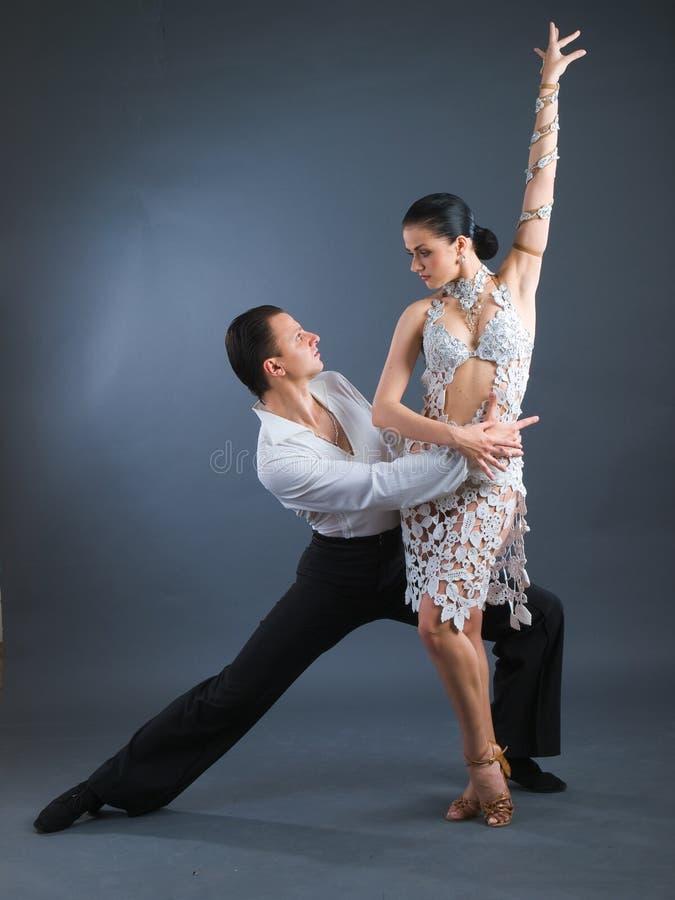 Dançarinos imagem de stock