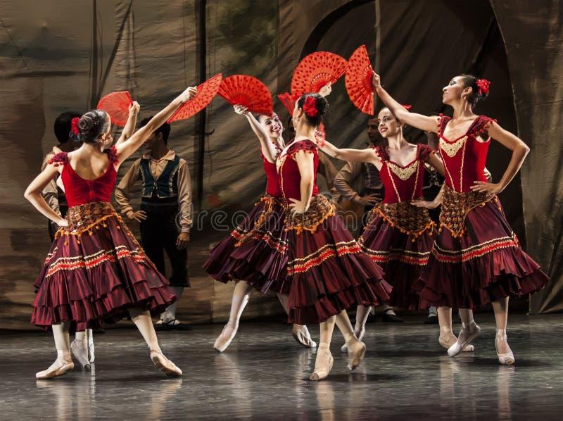 Dançarinos imagens de stock royalty free