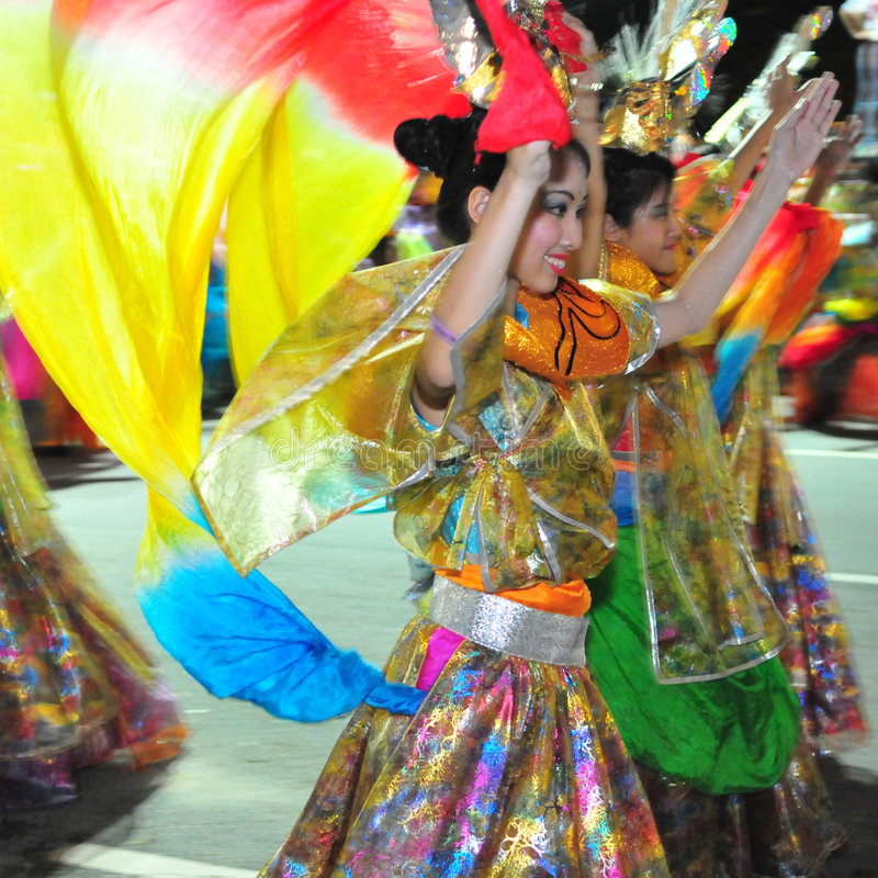 Dançarinos foto de stock
