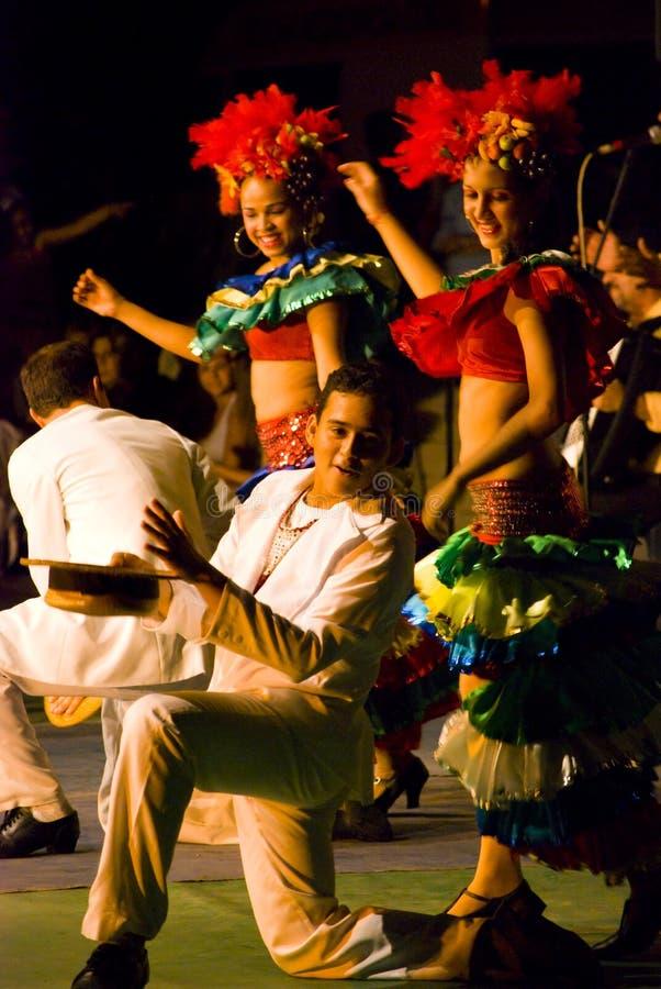 Dançarinos brasileiros fotos de stock