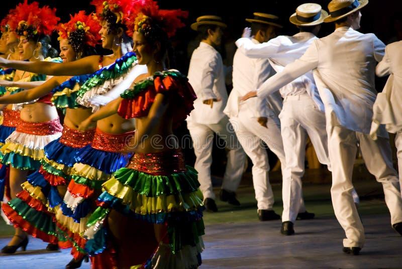 Dançarinos brasileiros foto de stock