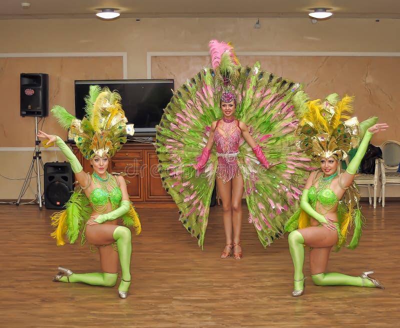 Dançarinos da taberna imagem de stock royalty free
