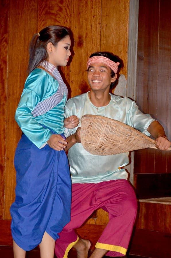 Dançarinos de Apsara fotografia de stock royalty free