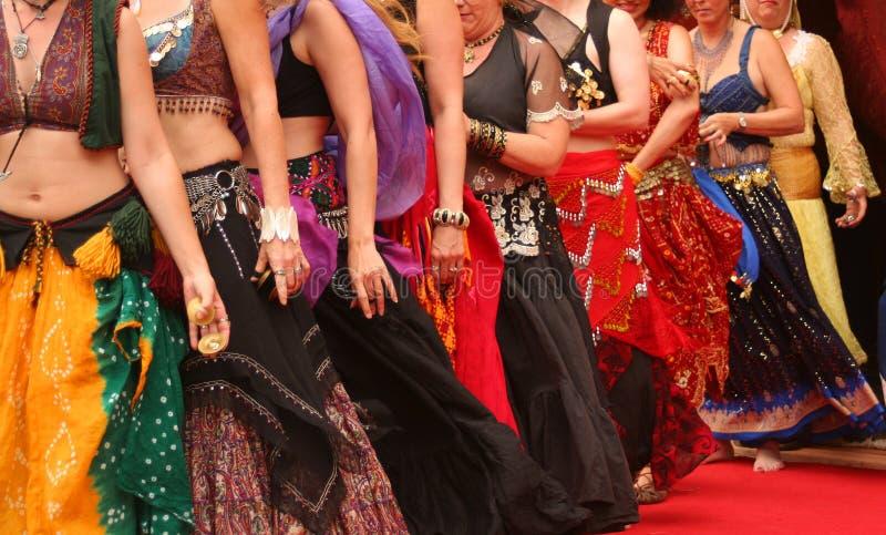 Dançarinos de barriga fotos de stock royalty free