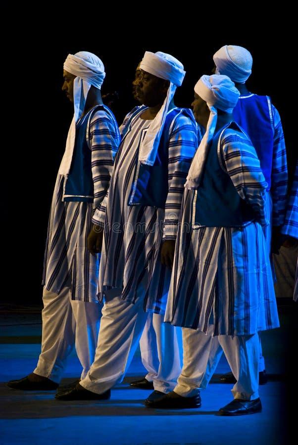 Dançarinos de Egipto foto de stock