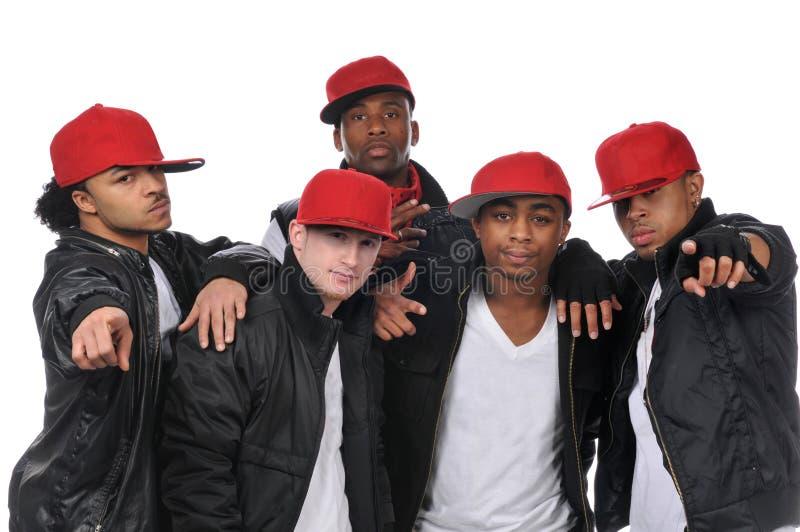 Dançarinos do estilo de Hip Hop foto de stock