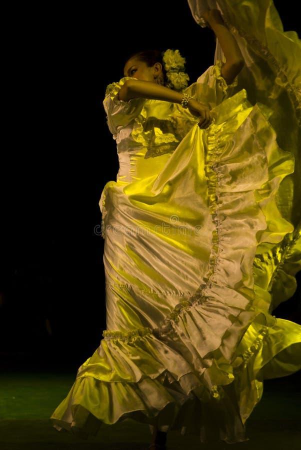 Dançarinos do Latino foto de stock royalty free