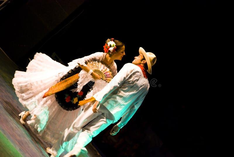 Dançarinos do Latino imagem de stock