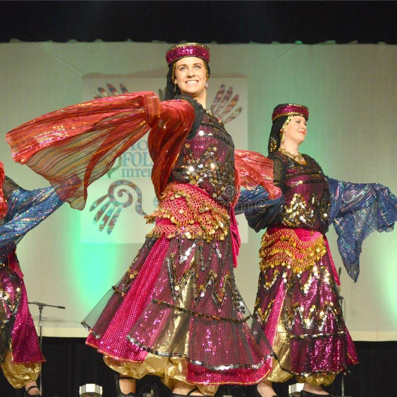 Dançarinos do Oriente Médio foto de stock royalty free