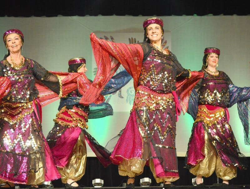 Dançarinos do Oriente Médio fotos de stock