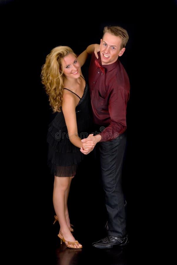 Dançarinos do salão de baile imagem de stock