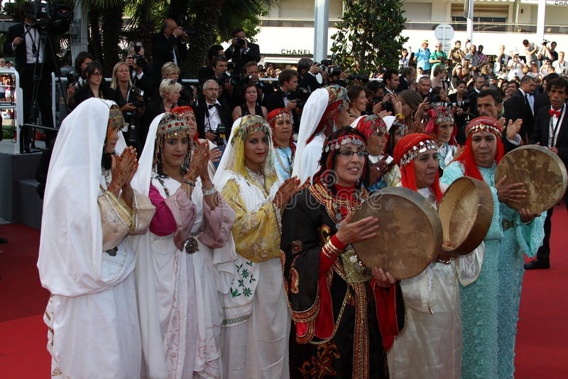 Dançarinos Maghreb fotos de stock royalty free